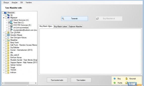 Empty Folder Cleaner Ekran Görüntüleri - 3