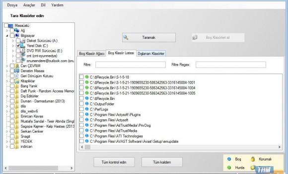 Empty Folder Cleaner Ekran Görüntüleri - 2