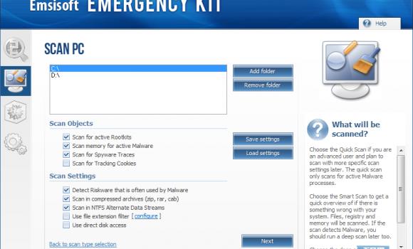 Emsisoft Emergency Kit Ekran Görüntüleri - 5