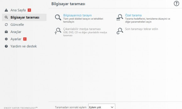 ESET NOD32 Antivirus Ekran Görüntüleri - 6