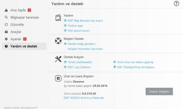 ESET NOD32 Antivirus Ekran Görüntüleri - 2