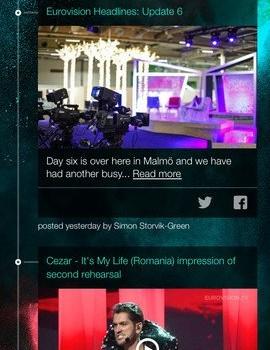 Eurovision Song Contest Ekran Görüntüleri - 3