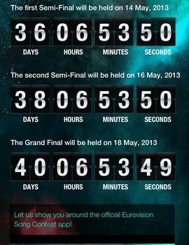 Eurovision Song Contest Ekran Görüntüleri - 1