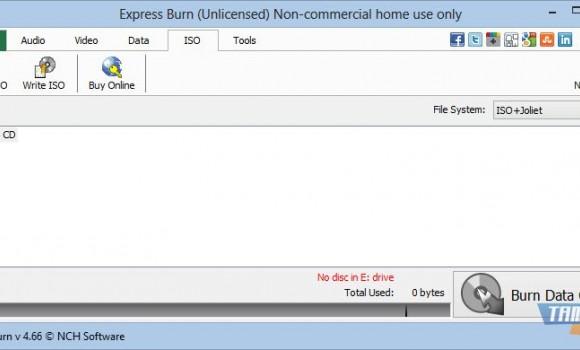 Express Burn Ekran Görüntüleri - 1
