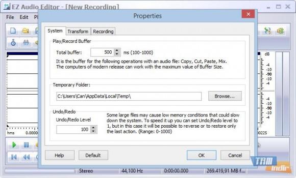 EZ Audio Editor Ekran Görüntüleri - 1