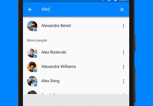 Facebook Messenger (APK) Ekran Görüntüleri - 4