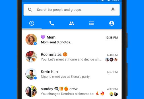 Facebook Messenger (APK) Ekran Görüntüleri - 3