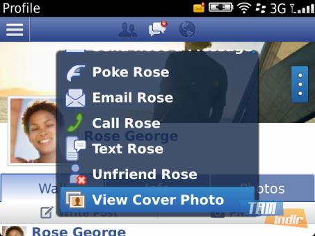 Facebook Mobil Ekran Görüntüleri - 5