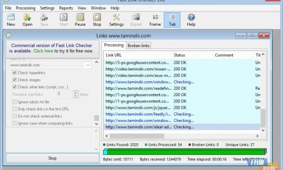 Fast Link Checker Lite Ekran Görüntüleri - 1