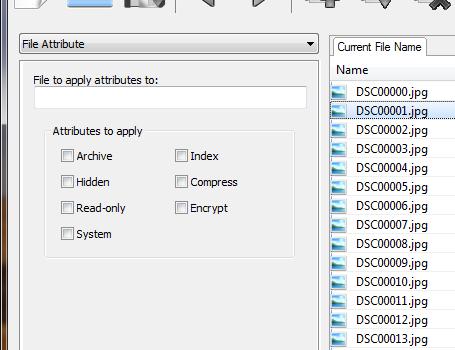 File Attribute Changer Ekran Görüntüleri - 2