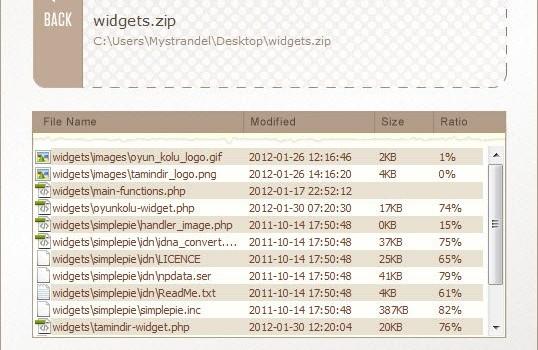 File Extractor Ekran Görüntüleri - 1