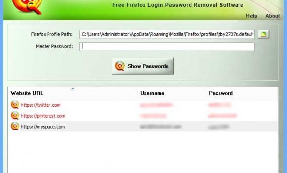 Firefox Password Remover Ekran Görüntüleri - 2