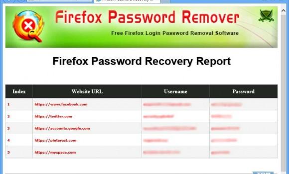 Firefox Password Remover Ekran Görüntüleri - 3