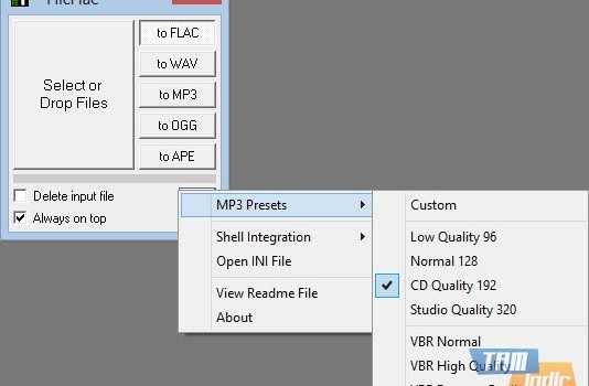 FlicFlac Converter Ekran Görüntüleri - 1