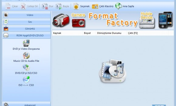 Format Factory Ekran Görüntüleri - 3