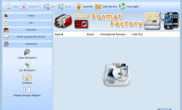 Format Factory Ekran Görüntüleri - 2