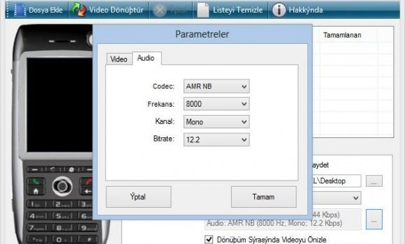 Free 3GP Converter Ekran Görüntüleri - 1