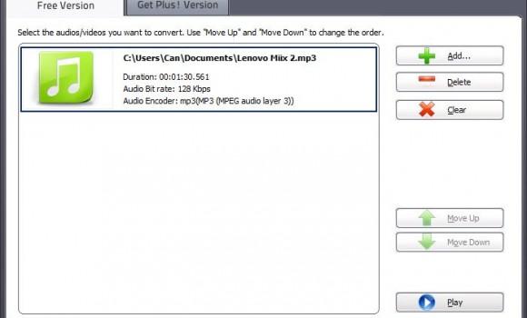 Free Audio Converter Ekran Görüntüleri - 3