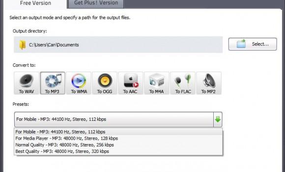 Free Audio Converter Ekran Görüntüleri - 1