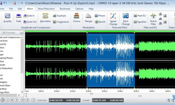 Free Audio Editor Ekran Görüntüleri - 2