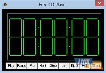 Free CD Player Ekran Görüntüleri - 1