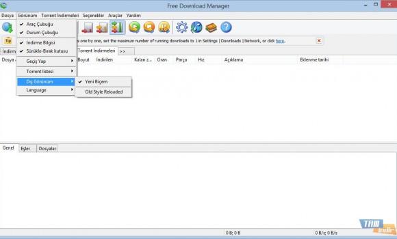 Free Download Manager Ekran Görüntüleri - 2