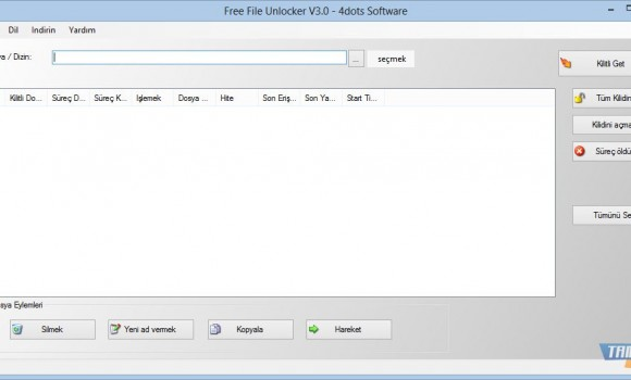 Free File Unlocker Ekran Görüntüleri - 2