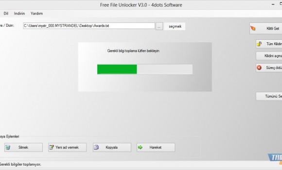 Free File Unlocker Ekran Görüntüleri - 1