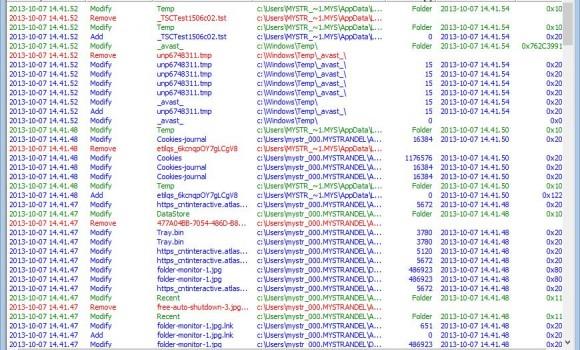 Free Folder Monitor Ekran Görüntüleri - 3