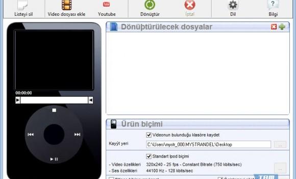 Free iPod Video Converter Ekran Görüntüleri - 3