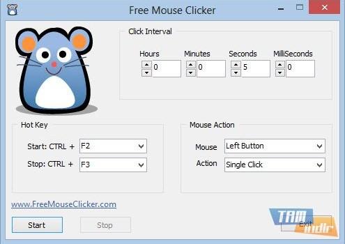 Free Mouse Clicker Ekran Görüntüleri - 1