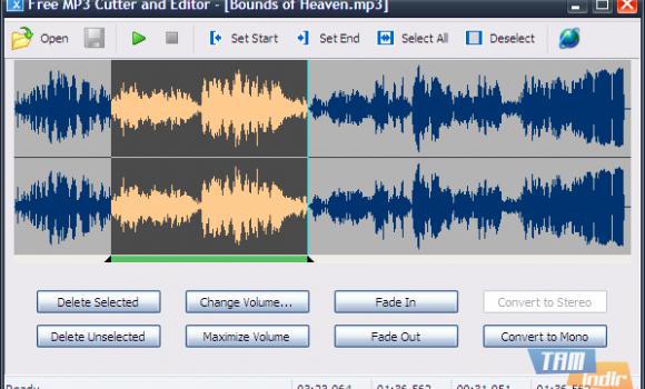 Free MP3 Cutter and Editor Ekran Görüntüleri - 1