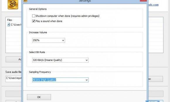 Free MP3 Quality Optimizer Ekran Görüntüleri - 1