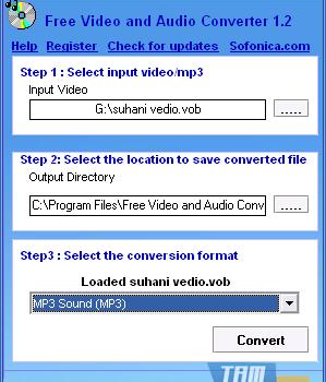 Free Video and Audio Converter Ekran Görüntüleri - 1