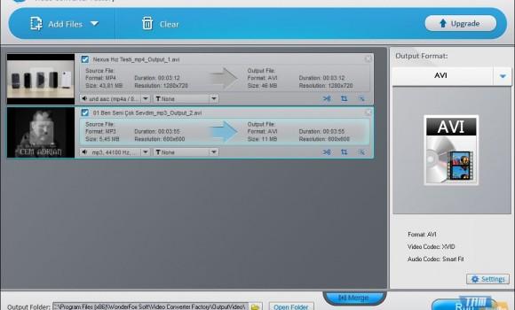 Free Video Converter Factory Ekran Görüntüleri - 2