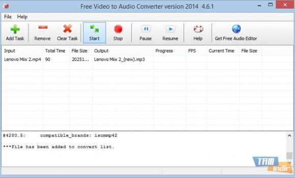 Free Video To Audio Converter Ekran Görüntüleri - 2