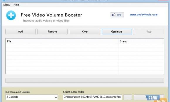 Free Video Volume Booster Ekran Görüntüleri - 3