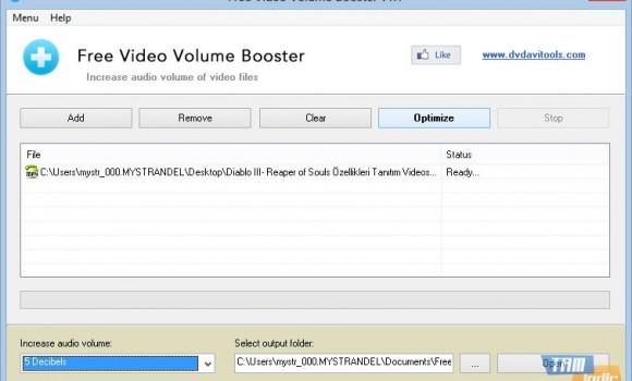 Free Video Volume Booster Ekran Görüntüleri - 2