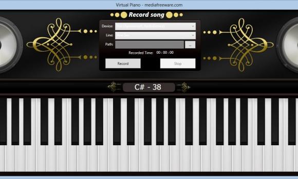 Free Virtual Piano Ekran Görüntüleri - 3