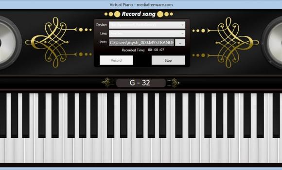 Free Virtual Piano Ekran Görüntüleri - 1