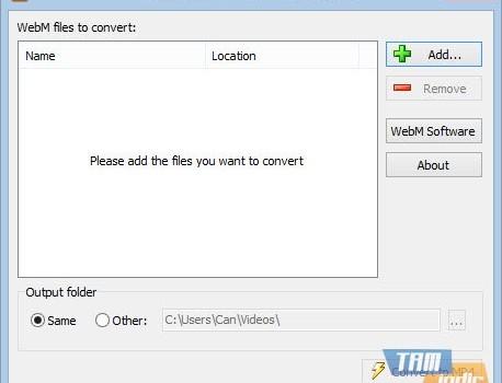 Free WebM to MP4 Converter Ekran Görüntüleri - 1