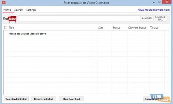 Free Youtube to Video Converter Ekran Görüntüleri - 3