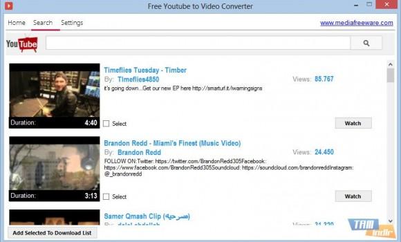 Free Youtube to Video Converter Ekran Görüntüleri - 2