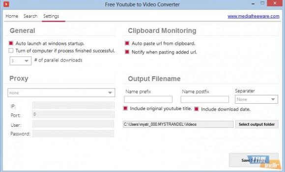 Free Youtube to Video Converter Ekran Görüntüleri - 1