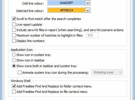 FreeBee Find And Replace Ekran Görüntüleri - 2