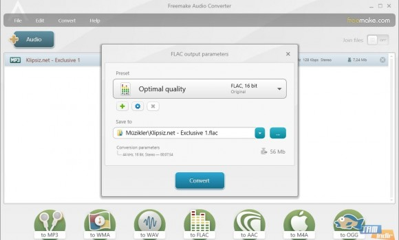 Freemake Audio Converter Ekran Görüntüleri - 2