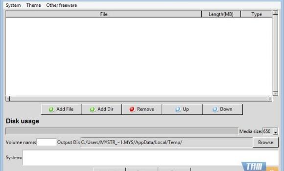 FreeStar CD Burner Software Ekran Görüntüleri - 2