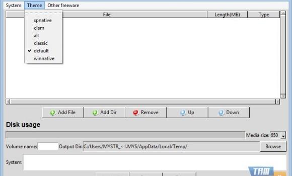 FreeStar CD Burner Software Ekran Görüntüleri - 1