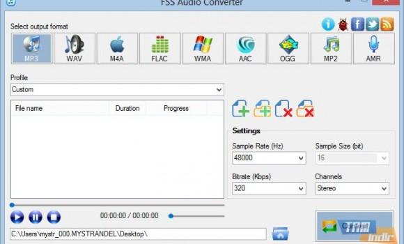 FSS Audio Converter Ekran Görüntüleri - 3