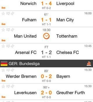 Futbol24 Ekran Görüntüleri - 4